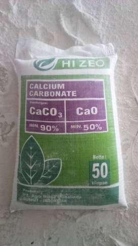 Calsium Carbonat CaCO3 dari Medan 1kg Rp 500