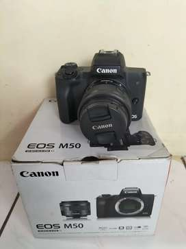 Canon Mirrolles M50 Fullshet box