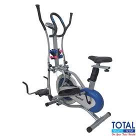 sepeda statis kardio fitnes I-095 // treadmill magnetik bike orbitrek