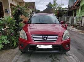 Honda CR-V 2.0 MT 2005 - Merah Maroon
