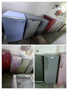 Single door fridge with 3 months warranty, home delivery available
