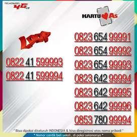 Nomor Cantik Telkomsel 9999 tengah