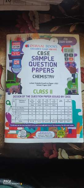 CBSE sample Question Paper (CHEMISTRY) Class 11