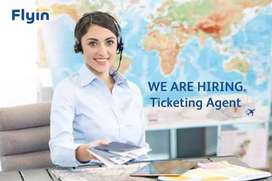 Reservation and ticketing agent/ Travel consultant required