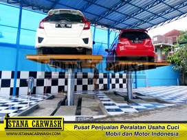 Paket Hidrolik Cuci Mobil 2 unit Tipe H Kapasitas 4 Ton Murah