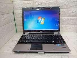 LAPTOP HP 8440 I7 HDD 320 NORMAL NO MINUSSPEK BERKUALITAS MULUS