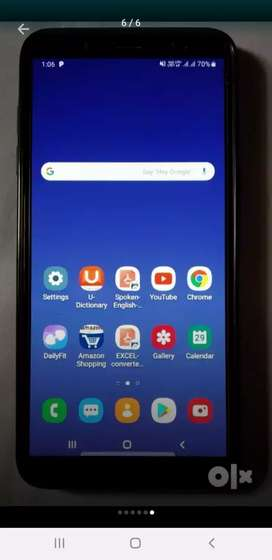 SamsungGalaxyJ8 AMOLED Display 1year RarelyUsed in Excellent Condition