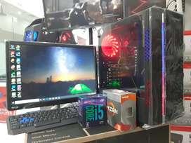 PC GAMING CORE i3/i5/i7 RYZEN FEAT NVIDIA GEFORCE / FULL SET MONITOR