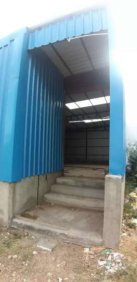LOCATION CAS NAGAR 3rd street 1000sq.ft Fully covered shed