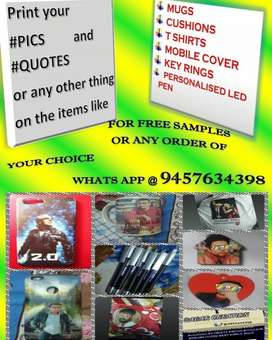 order yur items and msg for freee samples strting