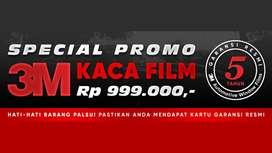 Promo Pemasangan Kaca Film 3M Original Murah
