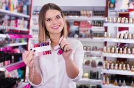 Showroom vacancies required sales girls in showrooms Only customer at
