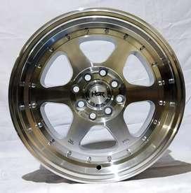 Jual velg Racing HSR Ring 15 Untuk mobil Brio, agya, ayla, March,