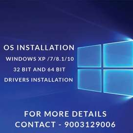 Os installation(700rs) done at best reasonable