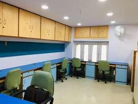Fully furnished office for rent, PR Marg, Ajmer