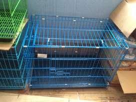 kandang kucing anjing 75cm dilipat ada tangga tingkat baru