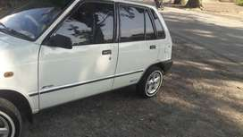 Mehran 2012 model avaleble for rent
