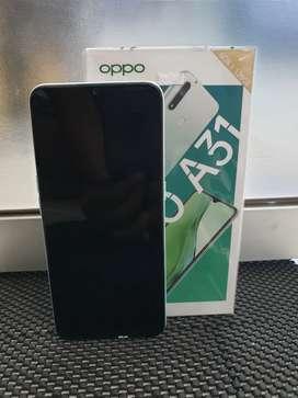 Oppo a31, 6/128 hijau green