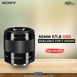 Sony 50mm 1.8 OSS best Potrait lens new