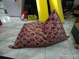 Palembang Beanbag Sofa santai isi styrofoam butiran bisa kredit