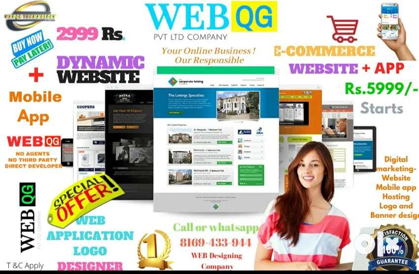 Web design/ Ecommerce / Website /mobile App