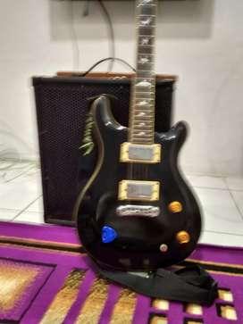 Gitar elektrik + soundsistem 1,750,000