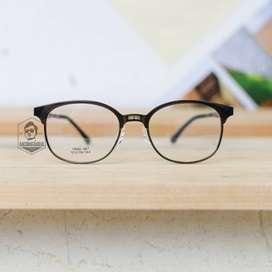 Kacamata Clubmaster Kotak Plastik Tangkai Lentur - ARUNDAYA 04