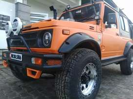 Maruti Gypsy modified and open jeep Mahindra