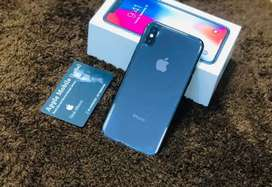new seal pack Apple iPhone X 256gb/ 4gb  all clours available in stock