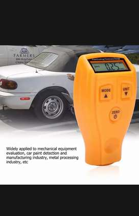 Mini digital portable car paint tester