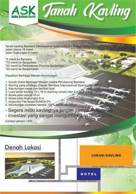 tanah kavling dekat bandara