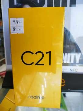 (BARU) Realme C21 ram(4/64) garansi resmi