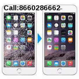 All mobile glass and display replacement at best price starts from