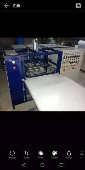 Thermocol plate making machine