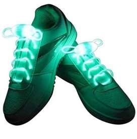 Lighting shoe lases