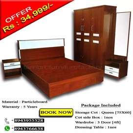 Package offer for bedroom set