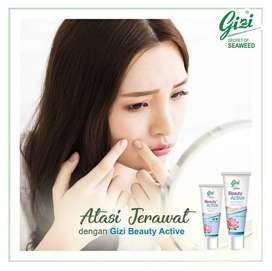 Paket Gizi Beauty Active (varian Gizi Super Cream obat Jerawat)