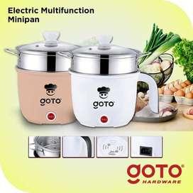 Multifunctional Electric Cooker Panci Listrik Fry Pan Portable
