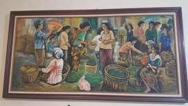 Lukisan dinding ...