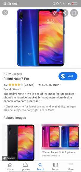 MI note 7 pro 2 month use  with all assarij