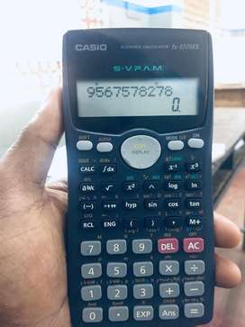 Casio calculator scientific