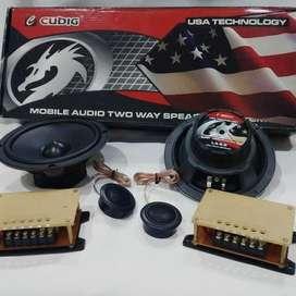 Jual speaker split 2 way Cubig LA 6.2 - U.S.A Produk  , audio mobil