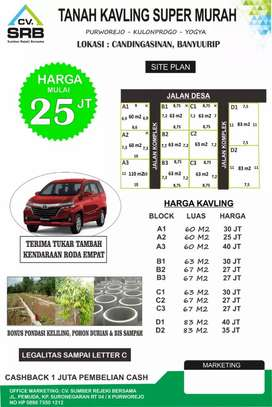 Tanah murah candingasinan Banyurip