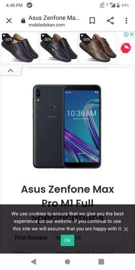 Asus max pro m1 3 32gb good condition