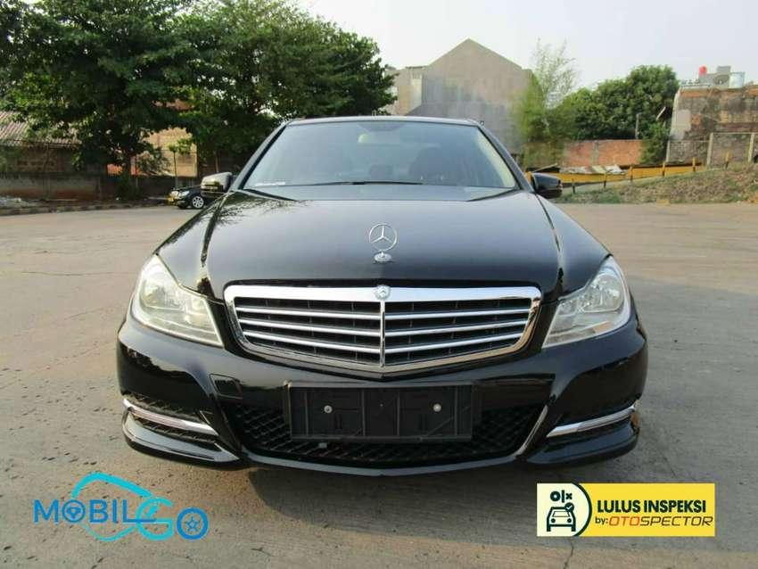 [Lulus Inspeksi] Mobil Go - Mercedes Benz C 200 CGI 2013 - Bisa Kredit 0
