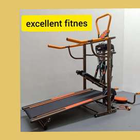 treadmill manual 6 fungsi FC-8003 D-46 tredmil alat olahraga
