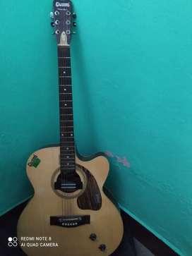 Givson semi acoustic rosewood guitar