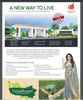 IB developers Vanabhoomi farm land venture near shankarpally