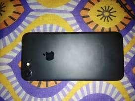 Iphone 7 black 128gb new 6 month warranty left