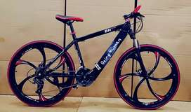 BEING HUMAN 21 GEARS Slick Model Cycle Shimano Gears HIGH SPEED CYCLE